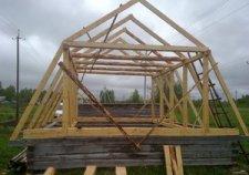 Ломаная мансардная крыша