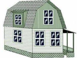 Проект ломанной крыши с