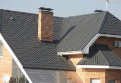 Листи металочерепиці для даху
