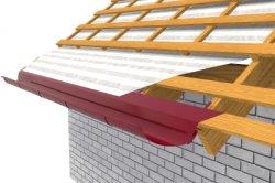 Монтаж зливу на даху