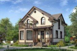 проект будинку з мансардним дахом