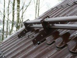 Снігозатримувачі для металочерепиці